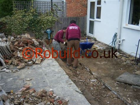how long it takes to build a kitchen extension house