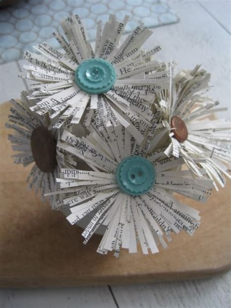 Paper Flower Books - 13 things to make with book pages crafting tip junkie