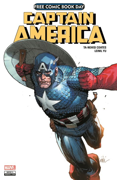 S Day Usa 2018 Leinil Yu S Captain America Cover For Free Comic Book Day 2018