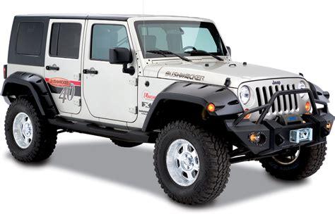 jeep fender flares jk bushwacker 11 75 quot width pocket style fender flares in oem