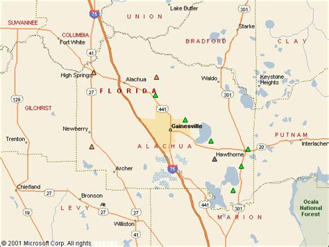 Alachua County Florida Records Usgs Water Resources Of The United States