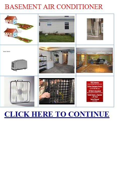 basement air conditioner basement air conditioner units