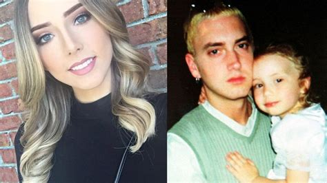 Photo ? Eminem?s stunning daughter Hailie flaunts serious