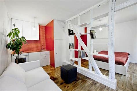 schlafzimmer und wohnzimmer kombinieren 30 kluge wohnideen f 252 r kleine wohnung