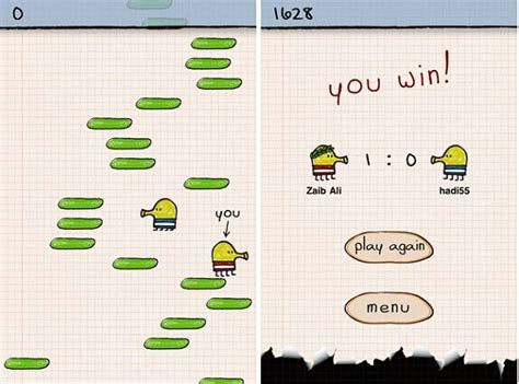 doodle jump android multiplayer doodle jump for ios updated with multiplayer feature the