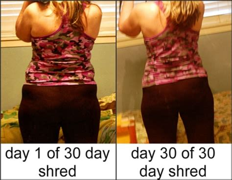 Jillian Shed And Shred Weight Loss Results by 17 Best Images About Health 30 Day Shred Before And