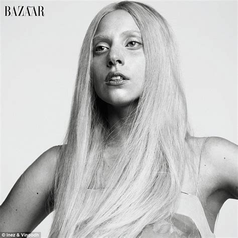 lady gaga nude shoot lady gaga is laid bare in fresh faced new photo shoot