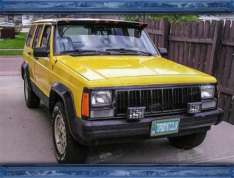 Jeep Spoiler Jeep Grand Xj Front Window Spoiler