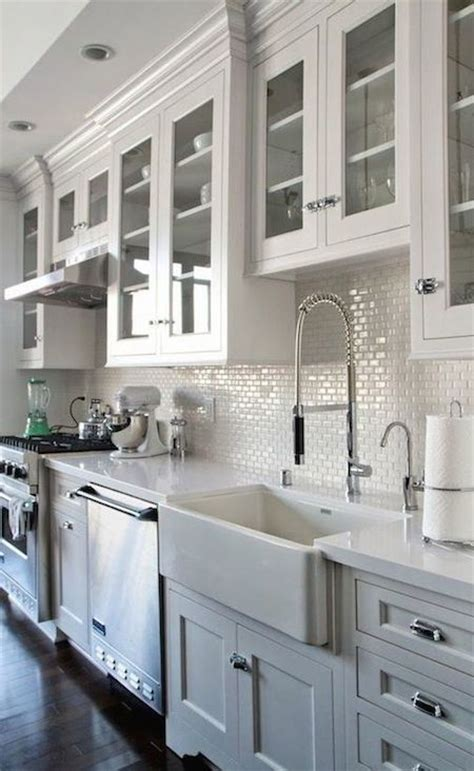 Options For A Kitchen Design With No Window Over The Sink No Window Above Kitchen Sink