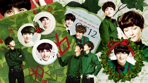 exo christmas wallpaper photo collection exo christmas wallpaper