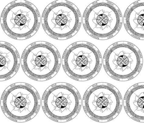 color your own wallpaper color your own wheel of the year wallpaper