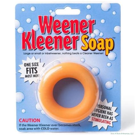 Most Popular Gifts For Adults - weener kleener soap weiner cleaner joke gift