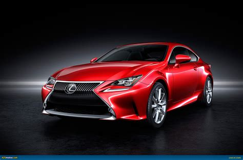lexus coupe ausmotive com 187 lexus rc coupe previewed before debut