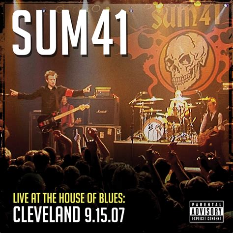 live house the official website of sum 41