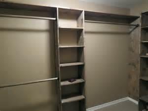 diy walk in closet wood home design ideas