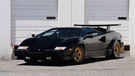 Lamborghini Quattrovalvole by 1988 Lamborghini Countach Lp5000 Quattrovalvole F138
