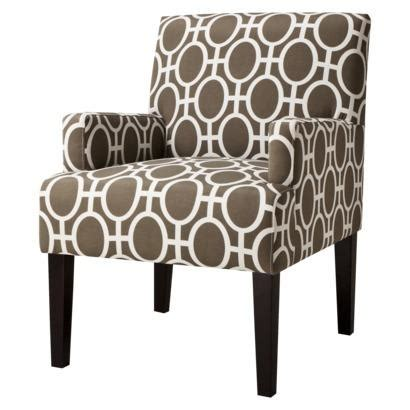target armchair dolce upholstered accent arm chair trellis target