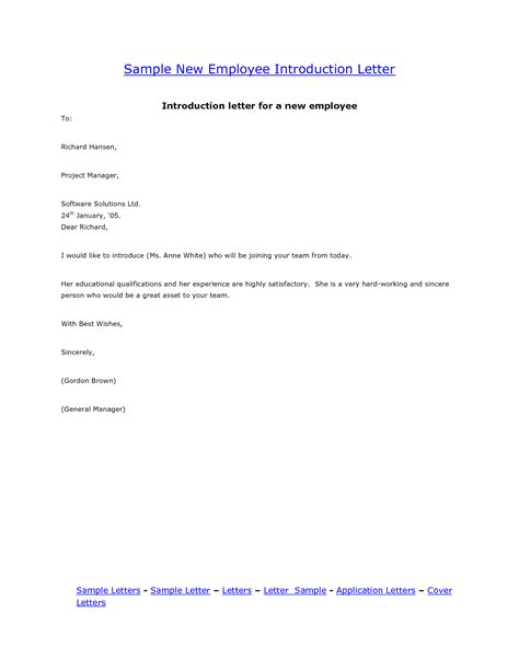 Employee Introduction Letter To Company Best Photos Of Sle New Employee Email Welcome New Employee Announcement Sle New