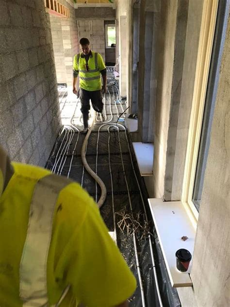 fast floors fast floor screed tipperary 270m2 ufh at 50 mm fast floor screed