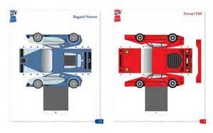 Bugatti Veyron Papercraft World Papercraft And Volkswagen On