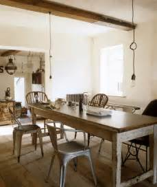 Homely rustic dining room or kitchen can easily be created