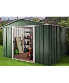 Metal Shed Argos buy rowlinson woodvale metal shed 10ft x 12ft at argos