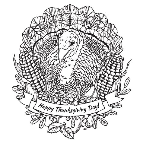 coloring pages for adults thanksgiving thanksgiving coloring pages for adults to and