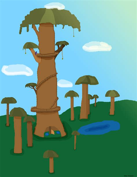 captainsparklez jerry jerry s tree fan art captainsparklez by pxlking on