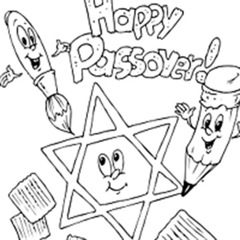 Seder Table Coloring Sheet Coloring Pages Passover Coloring Pages