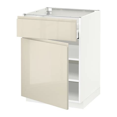 max white 4 drawer kitchen metod base cabinet with drawer door white ma voxtorp