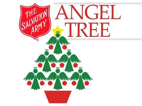 salvation army angel tree logo distribution day for salvation army tree recipients wdef