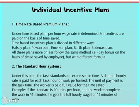 Wage Incentive Plans Performance Based Bonus Plan Template