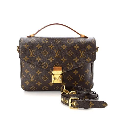 Lv Metis 3 louis vuitton pochette metis monogram coated canvas