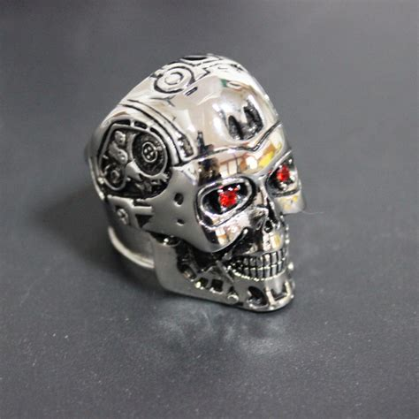 titanium steel ring terminator genesis salvation t800