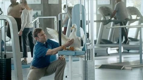 aflac commercial actress weightlifter aflac tv spot physical therapy song by survivor ispot tv
