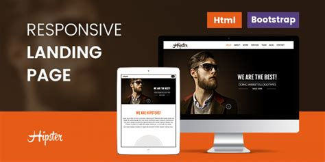free responsive landing page template html landing page 42 responsive html landing page