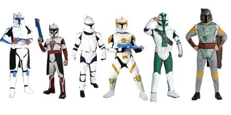 Wardrobe Costumes by Wars Costume Ideas Clone Troopers