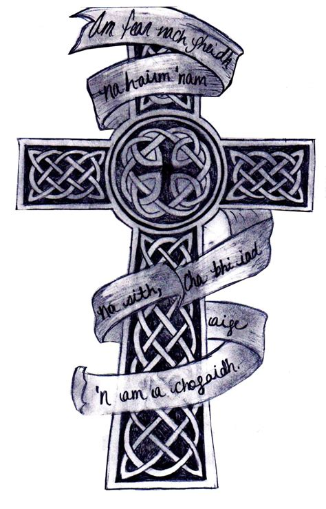 celtic cross tattoos with names 46 celtic cross tattoos designs