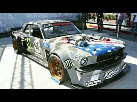 hoonigan mustang turbo hoonigan ken blocks 1965 1400hp hoonicorn v2 mustang