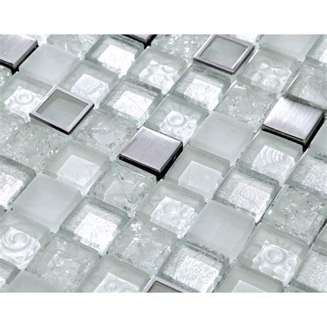 mosaik fliese mosaik fliese aus edelstahl harz und glasmosaik crushed