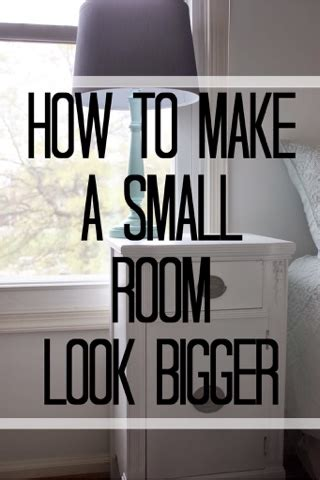 how to make a small bedroom look larger lc interior 6 tips amp tricks for making a small room look 21257 | blogger image 601042315