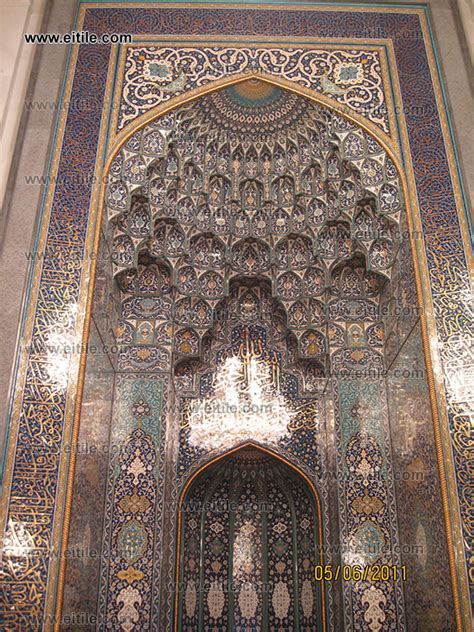 design of masjid mihrab mosques mihrab erfan international tile company
