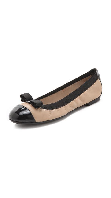 Flatshoes Ferragamo Import 19 lyst ferragamo my ballet flats in
