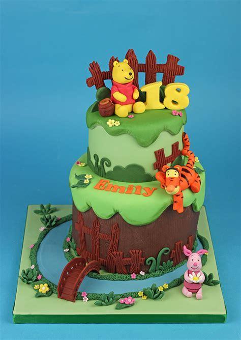 Winnie the Pooh & Friends Cake   Cakey Goodness