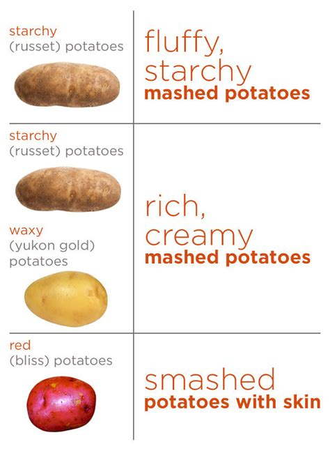 Synonym For Potato by Image Gallery List Types Of Potatoes