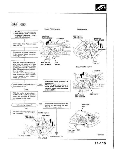 2000 honda accord ex v6 egr diagram honda auto parts