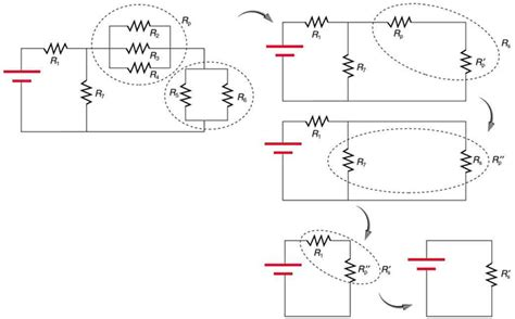 resistor in series diagram resistors in series and parallel 183 physics