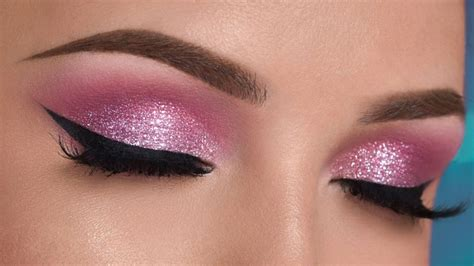 sparkling magic  diy glitter eye makeup
