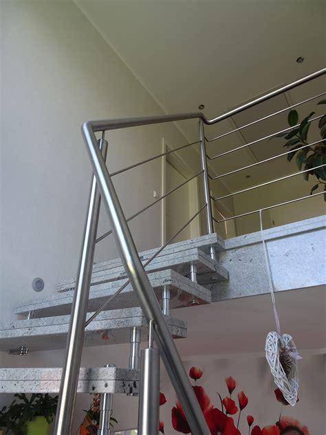 edelstahl treppe einzigartig treppengel 228 nder edelstahl innen haus design