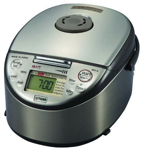 induction heating rice cooker review where to buy tiger jkh g10u induction heating 5 5 cup uncooked rice cooker and warmer carla